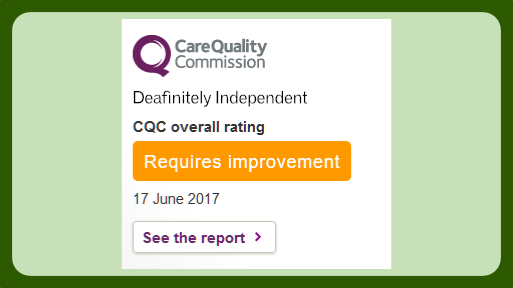 Link to CQC Reports